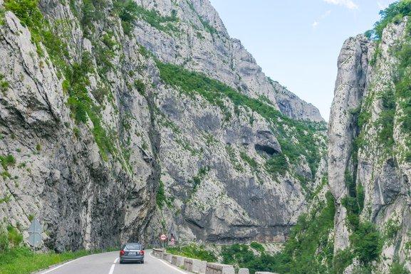 Vožnja Crna Gora, stanje na putevima