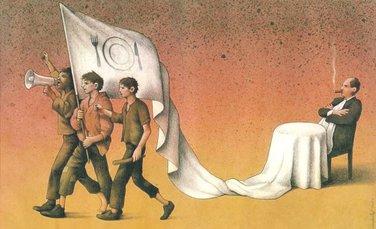 kolumna, ilustracija