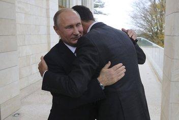 Bašar al Asad, Vladimir Putin
