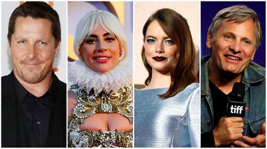 Kristijan Bejl, Lejdi Gaga, Ema Stoun, Vigo Mortensen