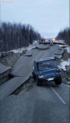 Vožnja posle zemljotresa