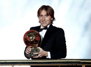 Luka Modrić Zlatna lopta