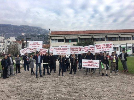 """NVO """"Bazar"""", protest"""