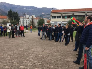 Budva protest, Jadranski sajam