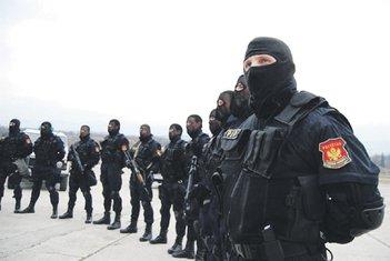 SAJ, Specijalna antiteroristička policija