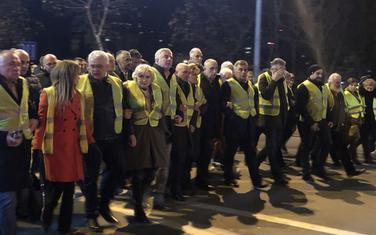 Sa protestne šetnje