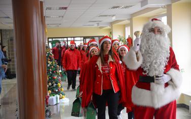 Karavan u Dječkoj bolnici u Podgorici