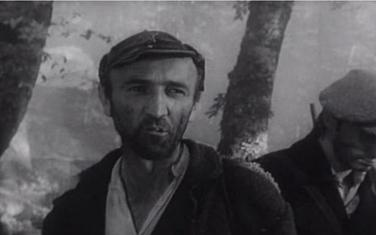 "Veljko Mandić u filmu ""Lelejska gora"""