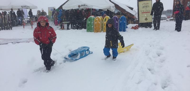 U snijegu najviše uživali najmlađi