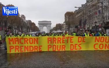 Sa protesta u Francuskoj