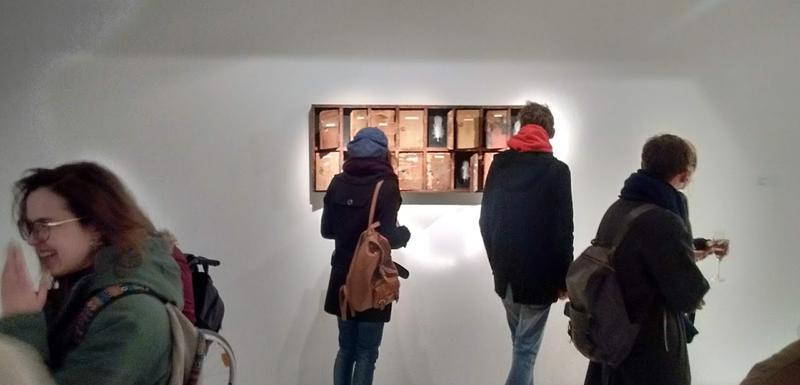 Sa izložbe Siniše Radulovića na Cetinju
