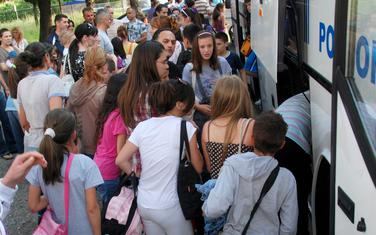 Odlazak djece u Čanj