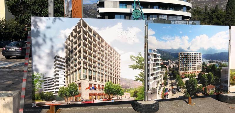 Gradilište budućeg kondo hotela