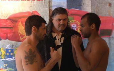 Sjekloća i Tavareš sa predjednikom CPBF Martinovićem