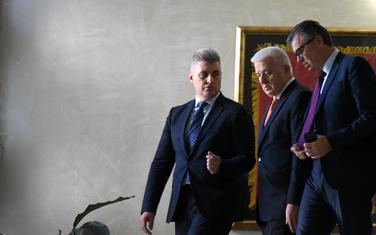 Šefovi Skupštine sa premijerom