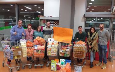 Sa akcije u marketu Laković