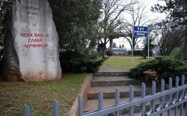 Trg golootočkih žrtava kod autobuske stanice
