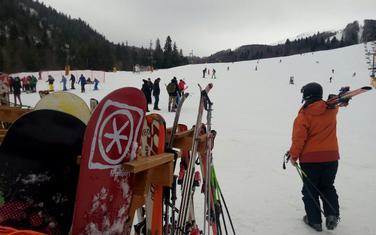 Dobra atmosfera na skijalištu