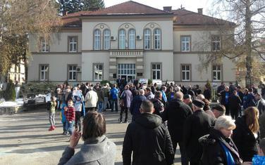Sa protesta u Beranama