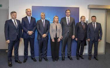 Male šanse za proširenje: Mogerini sa balkanskim liderima