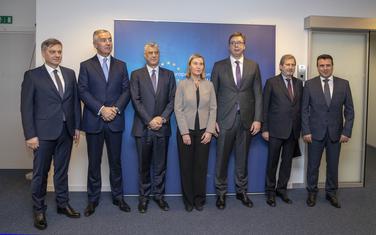 Mogerini i Han nedavno sa liderima zemalja Zapadnog Balkana