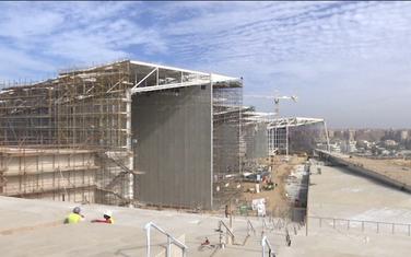 Gradilište Velikog egipatskog muzeja
