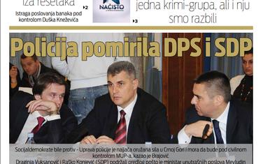 """Naslovna strana """"Vijesti"""" za 27. decembar"""