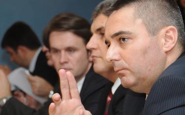 Direktor policije Veselin Veljović, Brajović i Konjević na odboru za bezbjednost (arhiva)