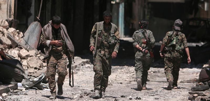 Pripadnici Sirijskih demokratskih snaga 2016.