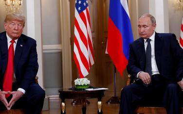 Tramp i Putin