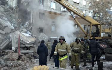 Ruševina zgrade u Magnitigovsku