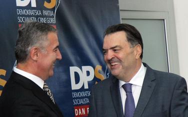 Milo Đukanović i Duško Knežević