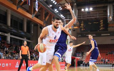 Filip Barović na utakmici 3. kola sa Igokeom u Laktašima