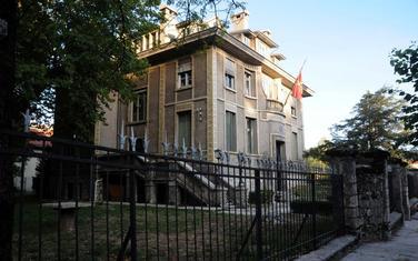 Nekadašnje francusko poslanstvo Cetinje