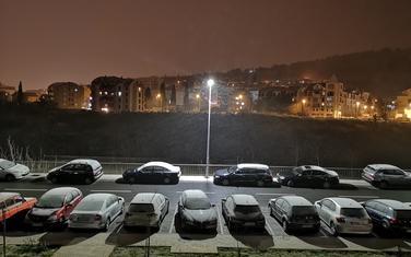 Prvi snijeg ove godine u glavnom gradu