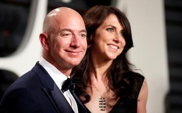 Džef i Mekenzi Bezos