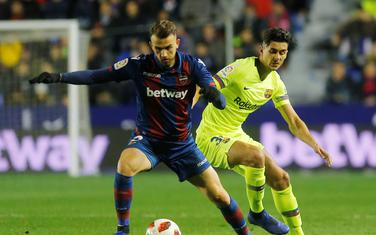 Igrač Reala na pozajmici u Levanteu dao gol Barseloni: Borha Majoral