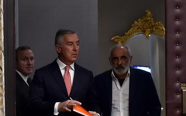 Milo Đukanović i Veselin Barović