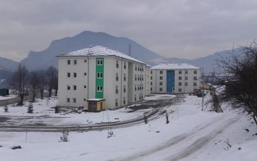 Zgrade za izbjeglice u Beranama