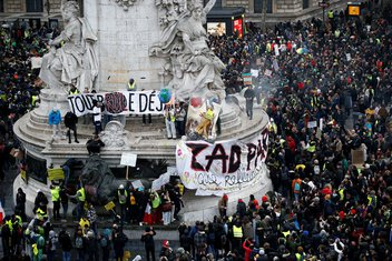 Francuska protest, žuti prsluci