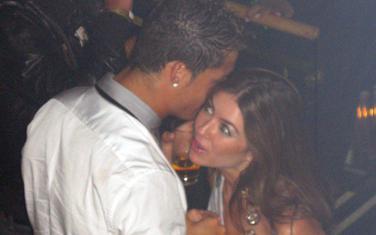 Kristijano Ronaldo i Katrin Majorga u Las Vegasu 2009. godine