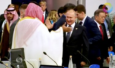 Muhamed bin Salman, Vladimir Putin
