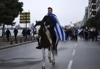 Grčka, protest