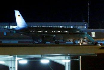 Avion Angele Merkel