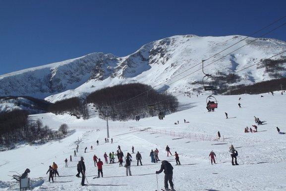 Savin kuk, skijanje