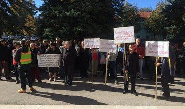 Košuta Cetinje protest