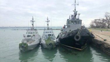 ukrajinski brodovi, zaplijenjeni brodovi