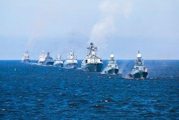 Ruska mornarica, brodovi