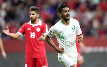 Al Mogavi slavi gol za Saudijsku Arabiju