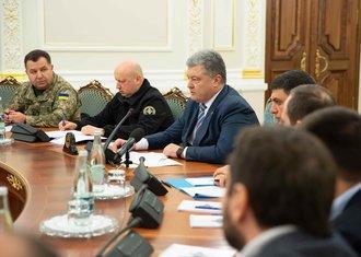 Petro Porošenko, Savjet za nacionalnu bezbjednost